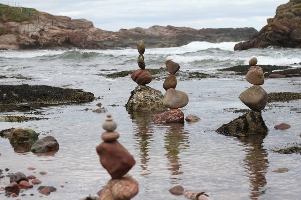 European Stone Stacking Championship 2017 stone balance 28