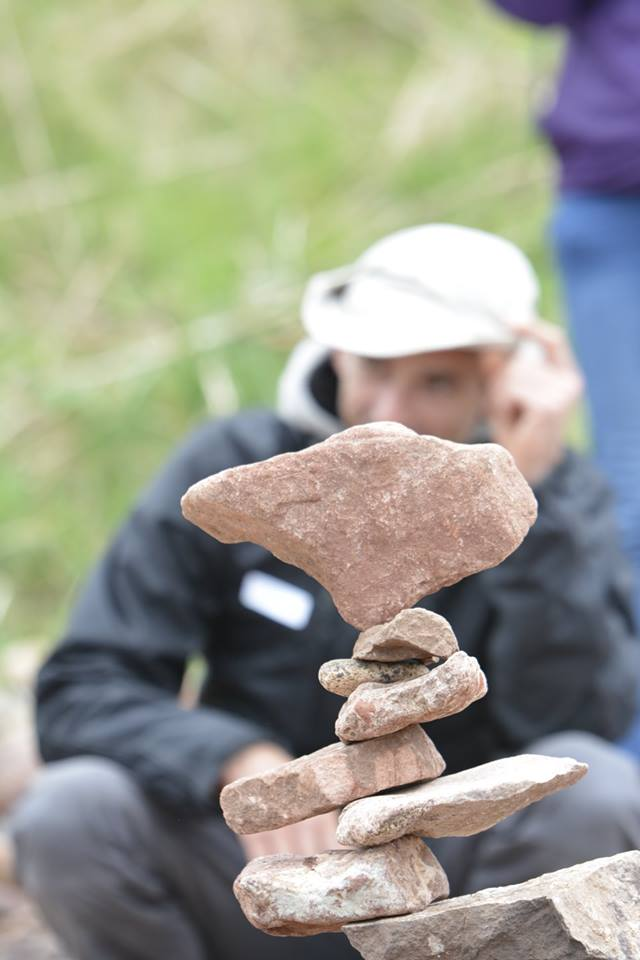 European Stone Stacking Championship 2017 stone balance 4