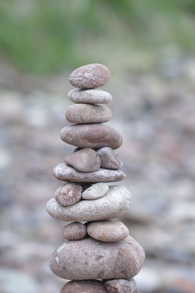 European Stone Stacking Championship 2017 stone balance 5