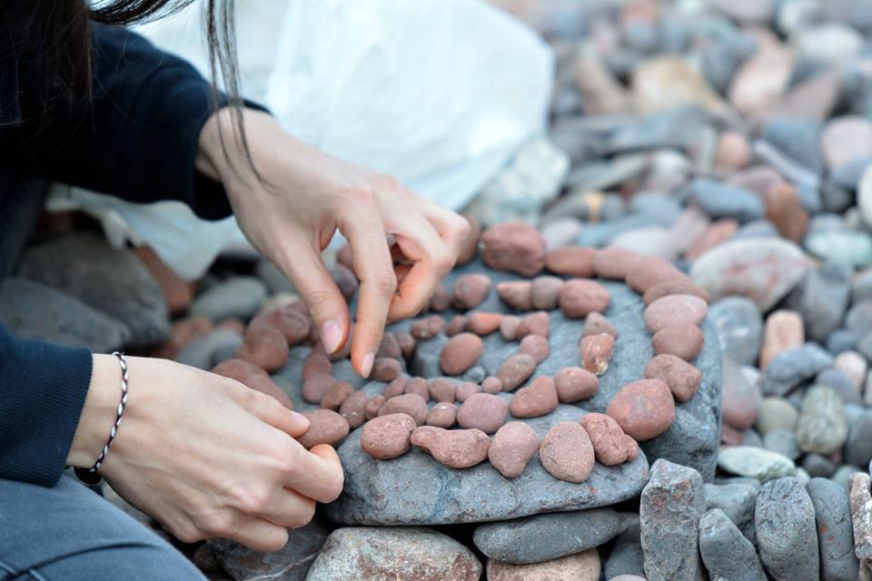 European Stone Stacking Championship 2017 stone balance 9