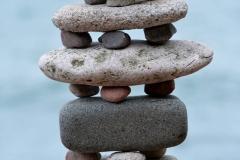 European Stone Stacking Championship 2017 stone balance 2
