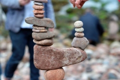 European Stone Stacking Championship 2017 stone balance 7